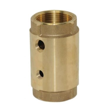 1 in. Two-Hole Brass Control Center Check Valve No Lead