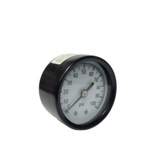 100 PSI Pressure Gauge with 1/8 in. Back Connection