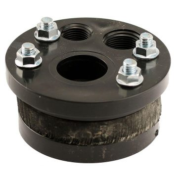 4 in. Single Drop (1 in. pipe size) Split Top Well Seal