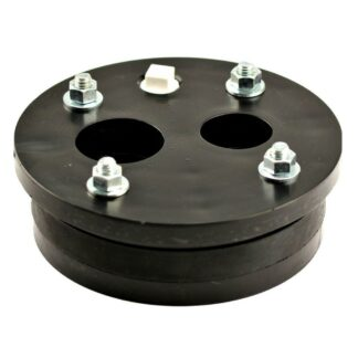 6 in. Double Drop (1-1/4 in. x 1 in. pipe sizes) Split Top Well Seal