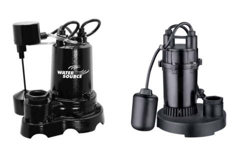 Sump Pumps and Replacement Parts